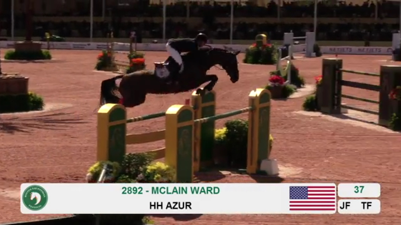 McLain Ward and HH Azur 800x450