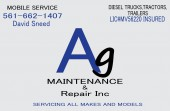 AG Maintenance