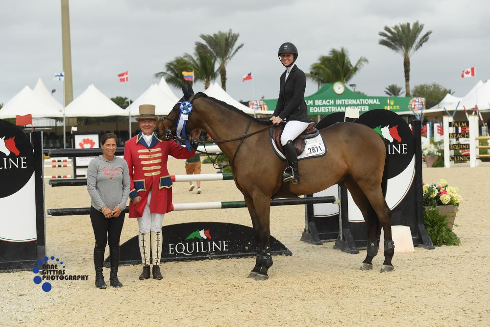 New Years Equiline $2500 NAL Med Jr AO Classic_Emma Seving_ Brighton Bay