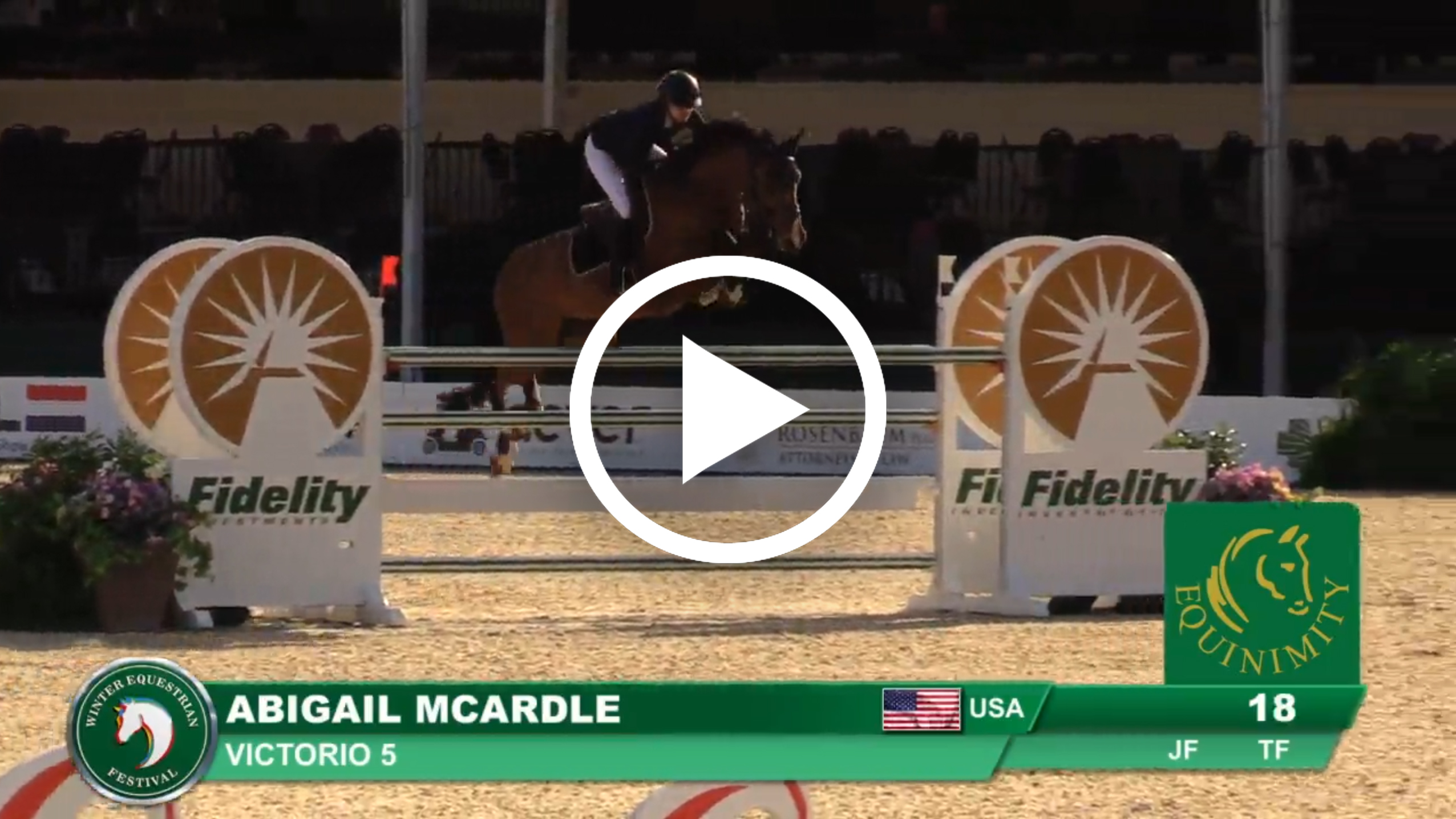Watch Abigail McArdle and Victorio 5's winning jump-off round.