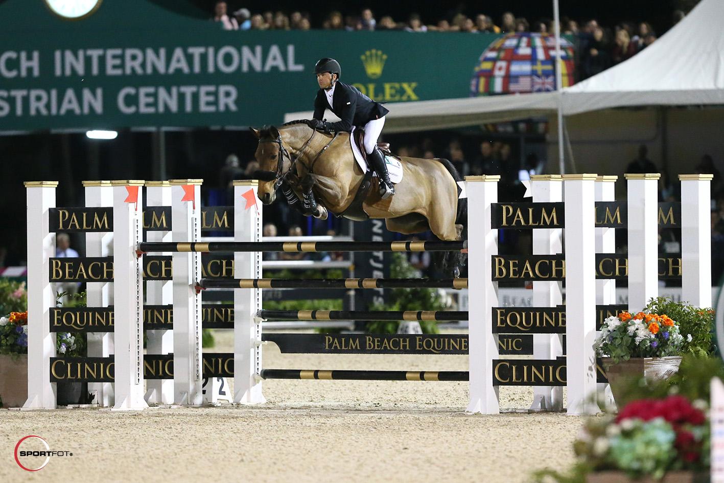 Kent Farrington and Gazelle by Sportfot