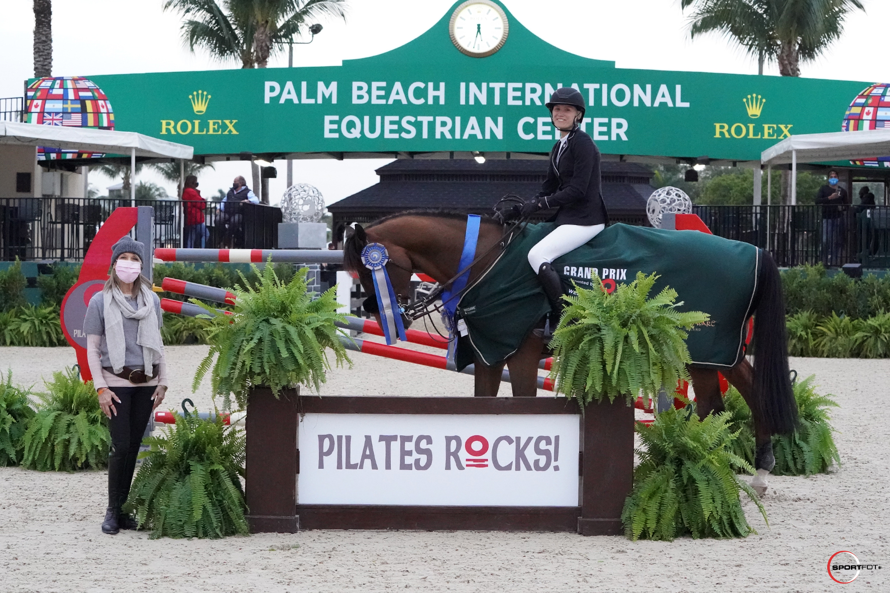 Hilary McNerney and Singuletto won the $30,000 Pilates Rocks Grand Prix ©Sportfot