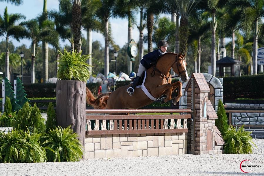 27/01/2021 ; Wellington FL ; Winter Equestrian Festival - Week 3