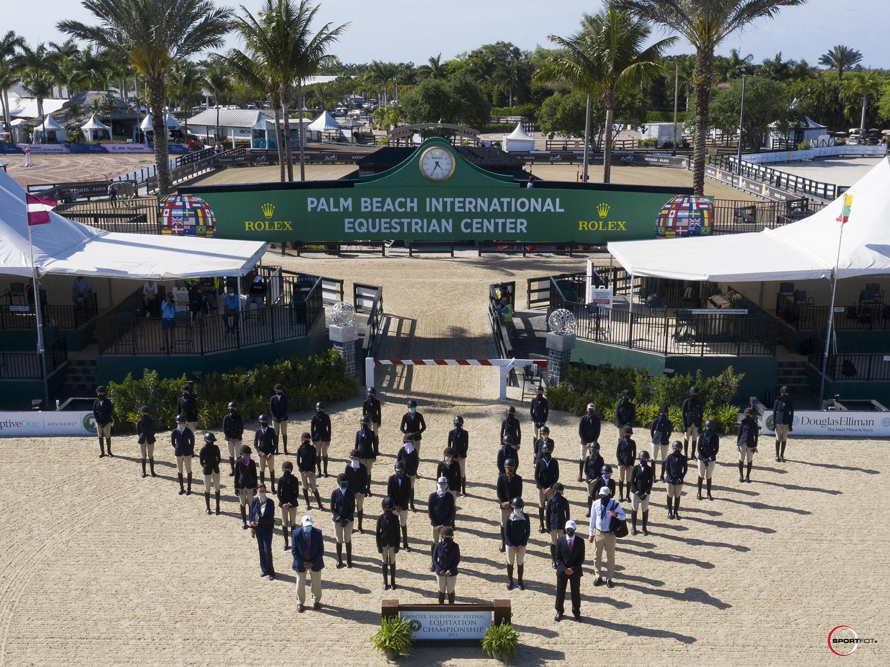 WEF Equitation Championship group DJI_0423 Sportfot