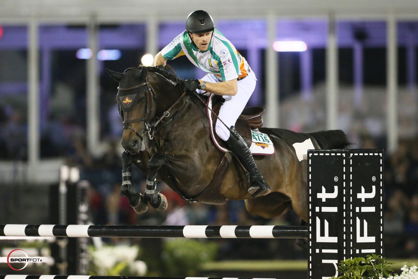 David Blake and Emilia. Photo © Sportfot