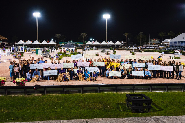 All of the participating charities in the 2019 Great Charity Challenge, presented by Fidelity Investments®. Photo © Lois Spatz.
