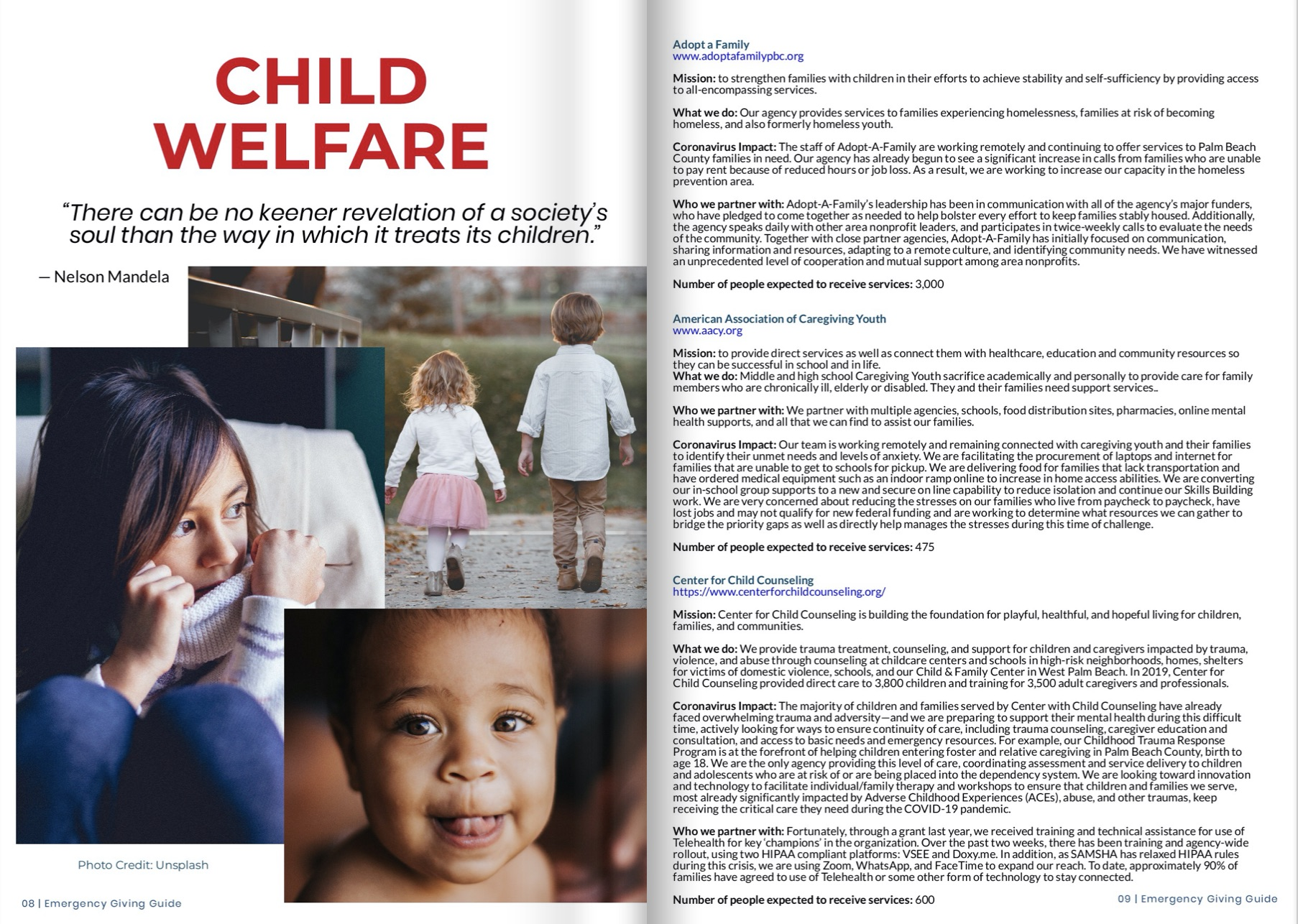 Emergency Guide - Child Welfare