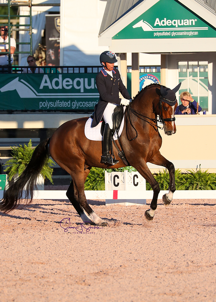 FEI Grand Prix Special CDI3* victors Steffen Peters (USA) and Suppenkasper. ©️Susan Stickle.