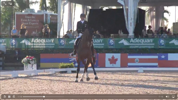 Watch Steffen Peters' winning test here. Courtesy of Richard's Equine Video.